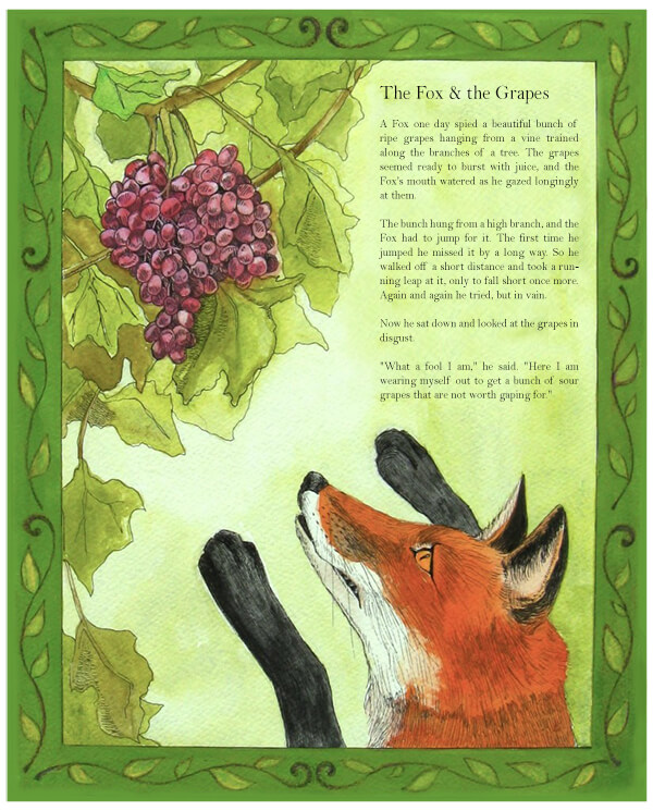 the-fox-and-the-grapes